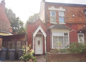 Thumbnail 3 bed end terrace house for sale in Grove Lane, Handsworth, Birmingham