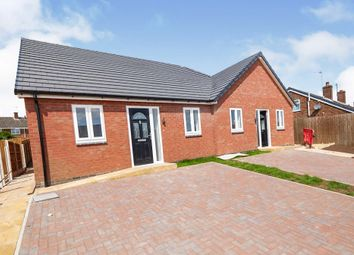 Thumbnail 2 bed terraced bungalow for sale in Hornton Road, Horninglow, Burton-On-Trent