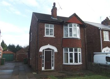 Thumbnail 3 bed detached house for sale in Exeter Road, Scunthorpe