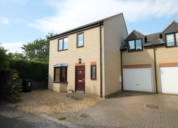 Thumbnail 3 bed end terrace house to rent in Wisbeach Close, Bottisham