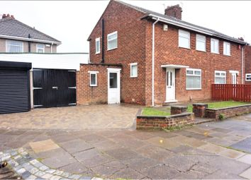 Thumbnail 2 bedroom semi-detached house for sale in Darenth Crescent, Middlesbrough