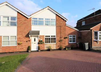 Thumbnail 3 bed semi-detached house for sale in Malvern Crescent, Ashby-De-La-Zouch