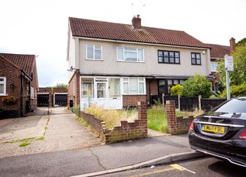 Thumbnail 4 bed semi-detached house to rent in Kersey Gardens, Romford