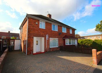 Thumbnail 3 bed semi-detached house to rent in Woolsington Road, North Shields