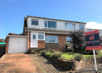 Thumbnail 3 bed semi-detached house for sale in Pines Road, Exmouth