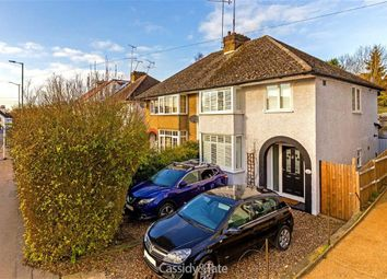Thumbnail 3 bed semi-detached house for sale in Folly Lane, St Albans, Hertfordshire
