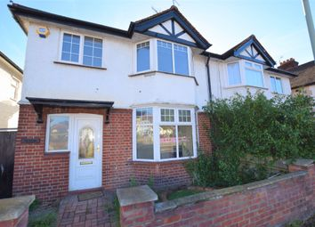 Thumbnail 3 bed semi-detached house to rent in Bushey Mill Lane, Watford