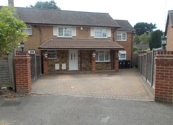 Thumbnail 5 bed semi-detached house for sale in Balmoral Drive, Woking