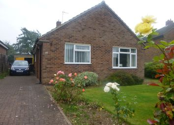 Thumbnail 2 bed detached bungalow to rent in Moat Bank, Bretby, Burton.