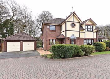 Thumbnail 4 bed detached house for sale in Witney Gardens, Warrington, Cheshire