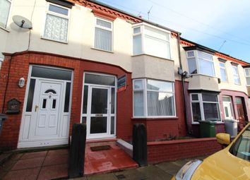 Thumbnail 3 bed terraced house to rent in Parkbridge Road, Tranmere, Birkenhead