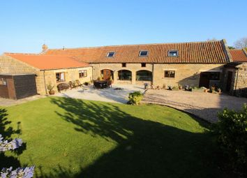 Thumbnail 3 bed barn conversion for sale in High Street, Burniston, Scarborough