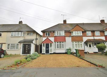 Thumbnail 3 bed end terrace house for sale in Heathcroft Avenue, Sunbury-On-Thames, Surrey