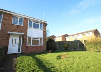 Thumbnail 3 bed end terrace house to rent in Bronte Crescent, Woodhall Farm, Hemel Hempstead