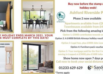 Thumbnail 2 bed flat for sale in Kenmore Place, 1 Leacon Road, Ashford