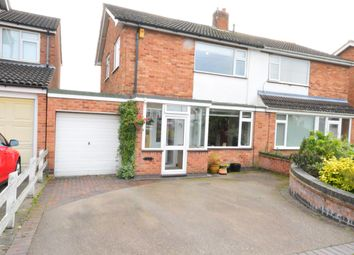Thumbnail 3 bed semi-detached house for sale in Denman Lane, Huncote, Leicester
