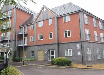 Thumbnail 2 bed flat for sale in Egret House, Millward Drive, Bletchley, Milton Keynes