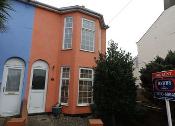 Thumbnail 3 bed end terrace house to rent in Back Chapel Lane, Gorleston, Great Yarmouth