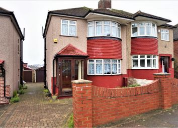 Thumbnail 3 bed semi-detached house for sale in Brockley Crescent, Romford