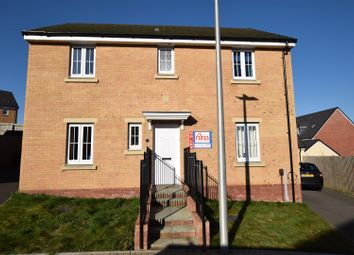 Thumbnail 4 bed detached house to rent in White Farm, Barry