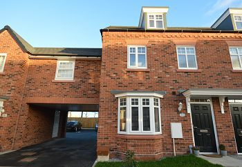 Thumbnail 3 bed terraced house for sale in Men O Brass Square, Sandbach, Cheshire