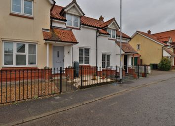 Thumbnail 2 bed terraced house to rent in Smiths Close, Dickleburgh, Diss