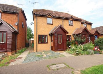 Thumbnail 2 bed end terrace house to rent in Constance Close, Witham, Essex
