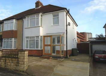 Thumbnail 3 bed semi-detached house for sale in Palmerston Avenue, Fareham