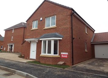 Thumbnail 3 bed detached house to rent in Middlesex Road, New Stoke Village