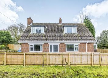 Thumbnail 3 bed bungalow for sale in Clough Lane, Werrington, Staffordshire, Staffs