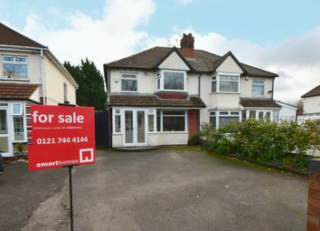 3 bed semi-detached house for sale in Fox Hollies Road, Acocks Green, Birmingham B27