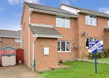 Thumbnail 2 bed semi-detached house for sale in Kingslea Park, East Cowes, Isle Of Wight