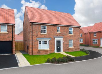 "Thumbnail 4 bed detached house for sale in ""Bradgate"" at Bridlington Road, Stamford Bridge, York"