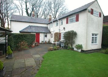 Thumbnail 4 bed detached house for sale in Hooton Road, Willaston, Neston