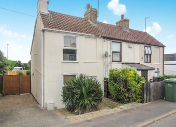 Thumbnail 2 bedroom end terrace house for sale in Old Lynn Road, Wisbech