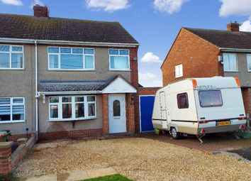 Thumbnail 3 bed semi-detached house for sale in Hookhams Path, Wollaston, Northamptonshire