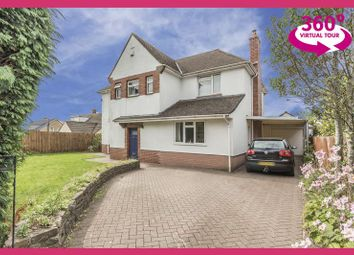 Thumbnail 4 bed detached house for sale in High Cross Lane, Rogerstone, Newport