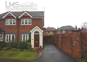 Thumbnail 2 bed semi-detached house to rent in Foxhill Close, The Grange, Sandiway