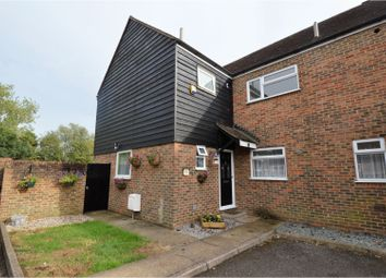 Thumbnail 4 bed end terrace house for sale in Turners Close, Ongar