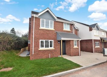 Thumbnail 4 bed detached house for sale in Cranfield Close, Salterton Road, Exmouth, Devon