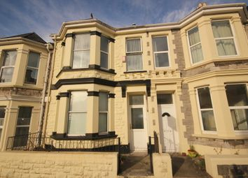 Thumbnail 1 bed terraced house to rent in Glen Park Avenue, Mutley, Plymouth
