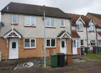 Thumbnail 2 bed terraced house to rent in Sunnymead, Werrington, Peterborough