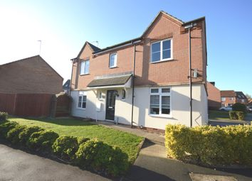 Thumbnail 4 bed detached house for sale in Siskin Close, Corby