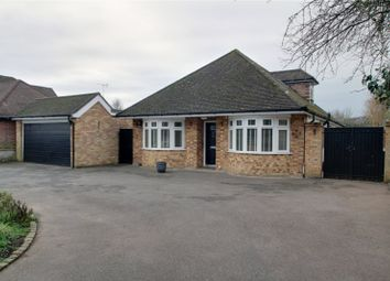Thumbnail 5 bed detached bungalow for sale in Staines Lane, Chertsey, Surrey