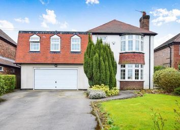 Thumbnail 4 bed detached house for sale in West Lane, Lymm, Warrington, Cheshire