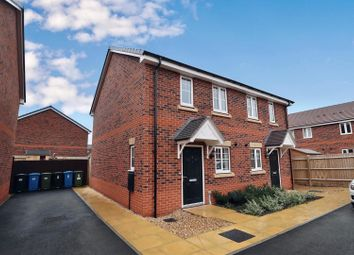 Thumbnail 2 bed semi-detached house for sale in Leveson Crescent, Codsall, Wolverhampton