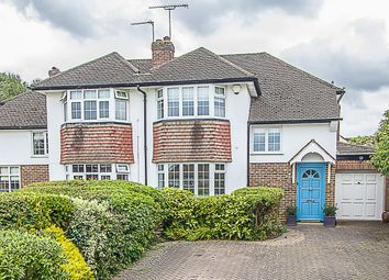 Thumbnail 3 bed property for sale in Severn Drive, Esher