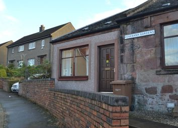 Thumbnail 1 bed terraced bungalow to rent in Rosebank Gardens, Sauchie, Alloa