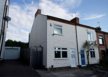 Thumbnail 3 bed end terrace house for sale in Chestnut Road, Glenfield, Leicester
