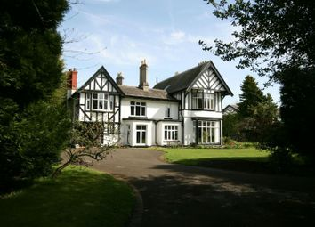 Thumbnail 6 bed detached house for sale in Two Gates, Oldfield Road, Altrincham